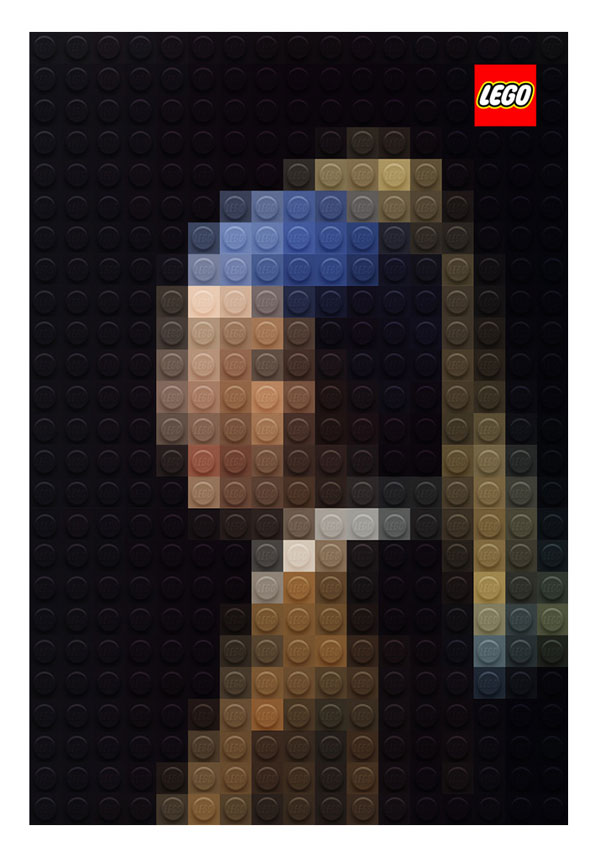 LEGO Version Of Famous Painting (2)