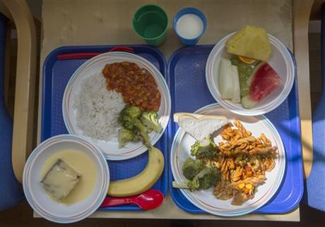 London school lunch