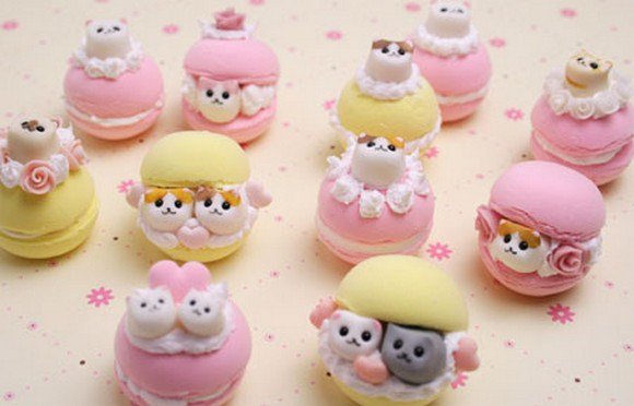 Macarons With Cat Filling 2