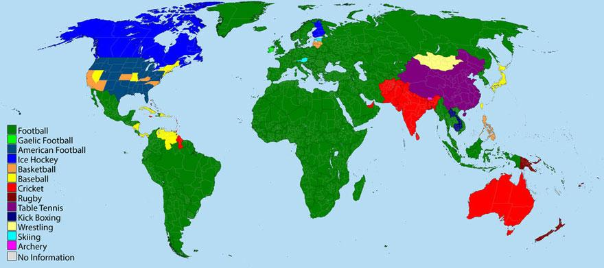 Most Popular Sports In The World