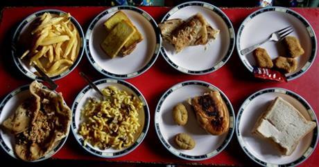 Pakistan school lunch