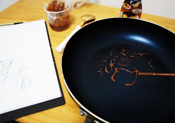 Pancake Art (3)