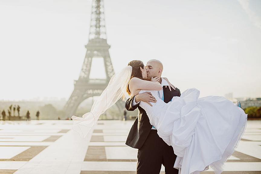 Paris Wedding Photo