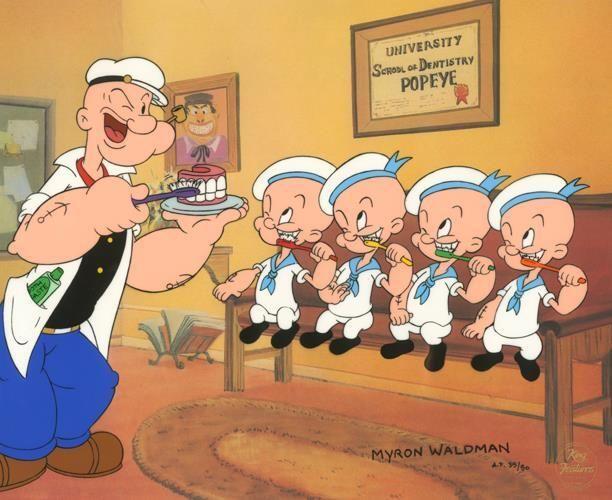 Popeye's four nephews