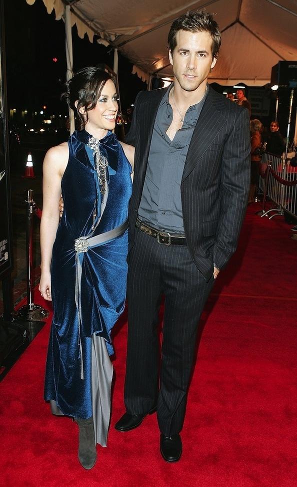 Ryan Reynolds and Alanis Morissette