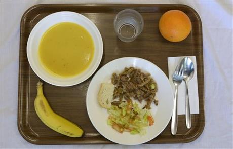 Spain school lunch
