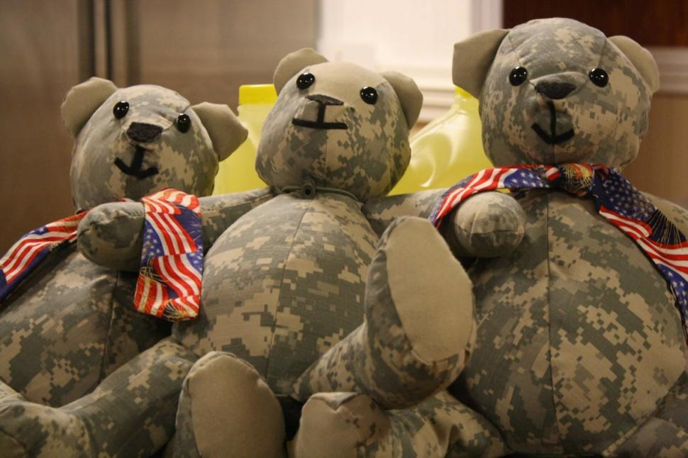 Teddy Bear Made Of Soldier's Uniform (2)