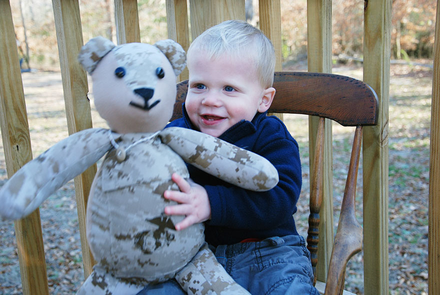 Teddy Bear Made Of Soldier's Uniform (7)