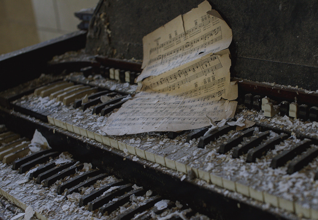 This particularly worn organ was found in an asylum in New York