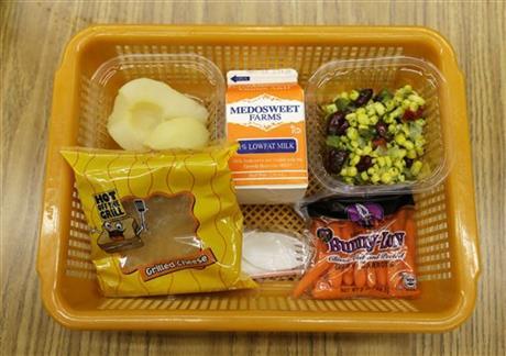 US school lunch