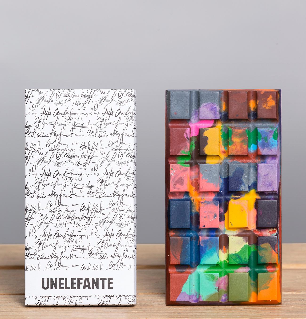 Unelefante Colourful Chocolate Bars (3)