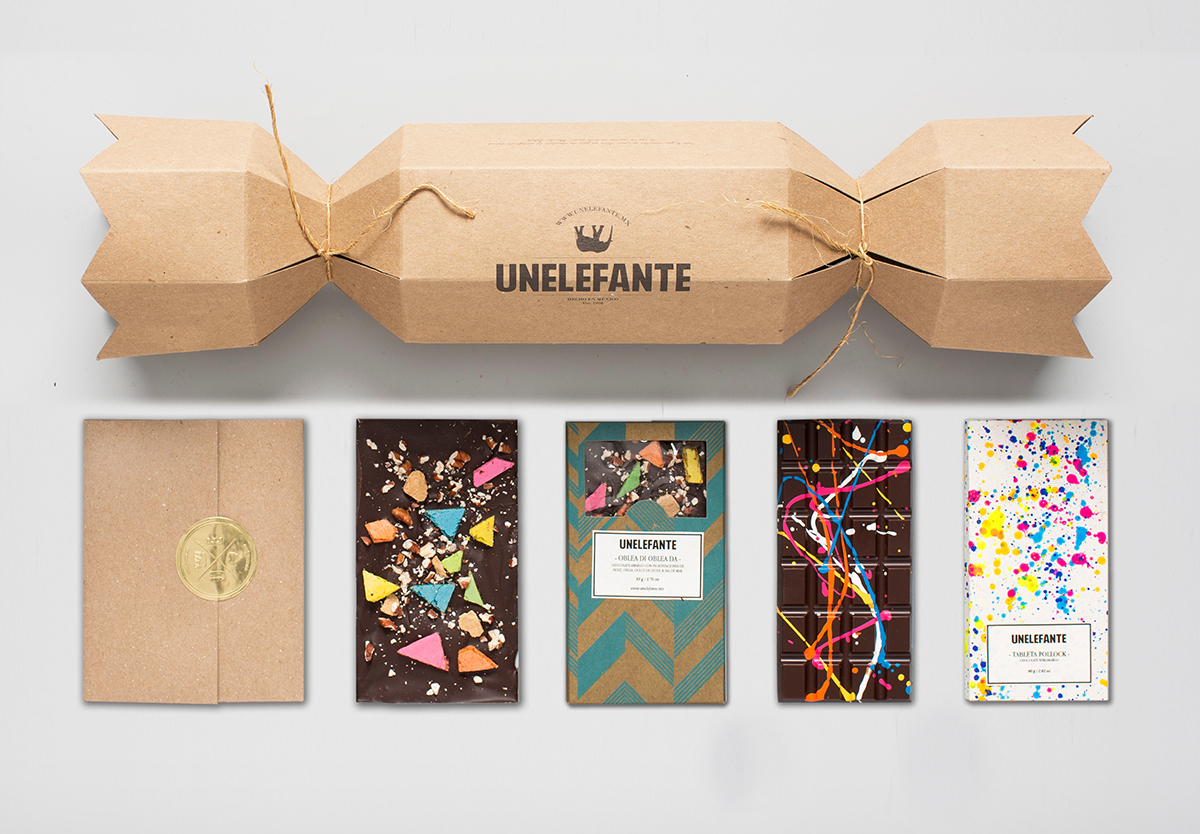 Unelefante Colourful Chocolate Bars (4)
