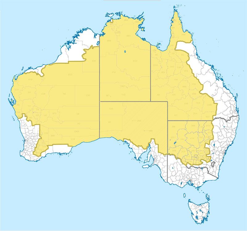 Where 2 Percent Of Australia's Population Lives