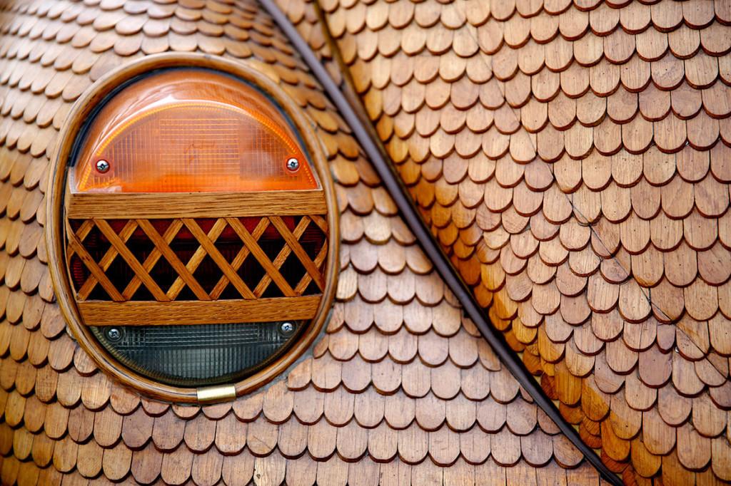 Wooden Volkswagen Beetle (2)