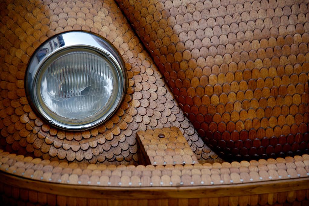 Wooden Volkswagen Beetle (5)