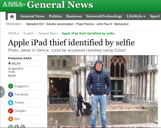 a-man-in-milan-stole-an-ipad-then-took-a-selfie-with-it-the-selfie-was-accessed-by-the-person-he-reportedly-stole-it-from-on-icloud-the-alleged-thief-was-then-arrested
