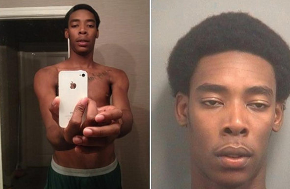 police-posted-a-mans-selfie-which-was-taken-from-an-iphone-he-allegedly-stole-to-social-media-and-asked-if-people-recognized-him-the-man-turned-out-to-be-19-year-old-jess-ewal