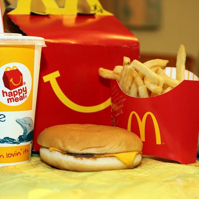 Cheeseburger Happy Meal