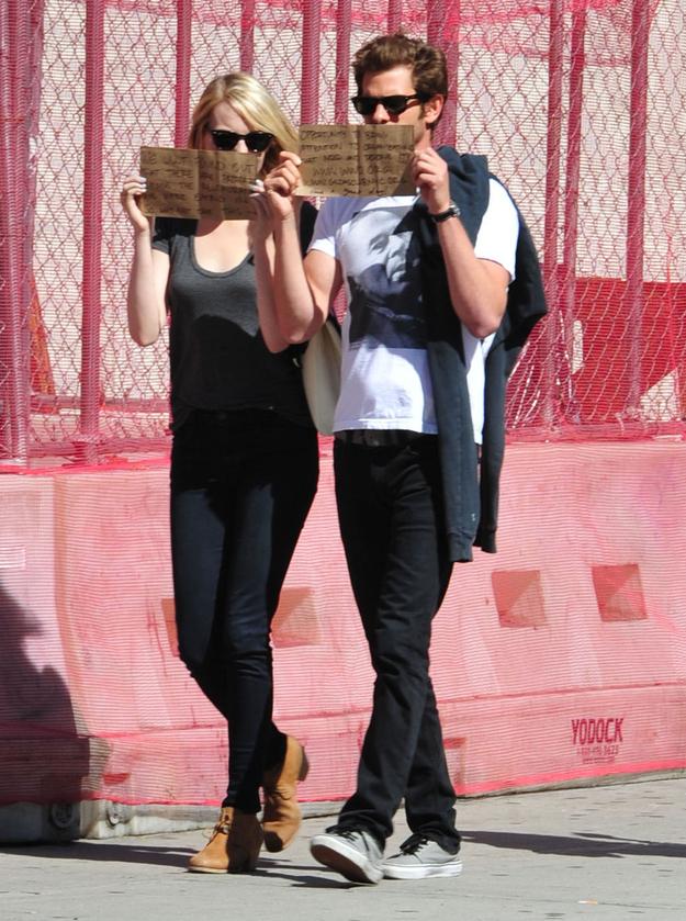 Emma Stone And Andrew Garfield (1)