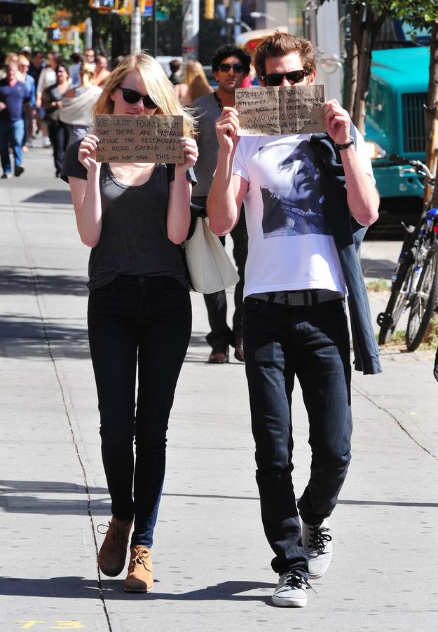 Emma Stone And Andrew Garfield (2)