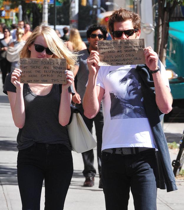 Emma Stone And Andrew Garfield (3)