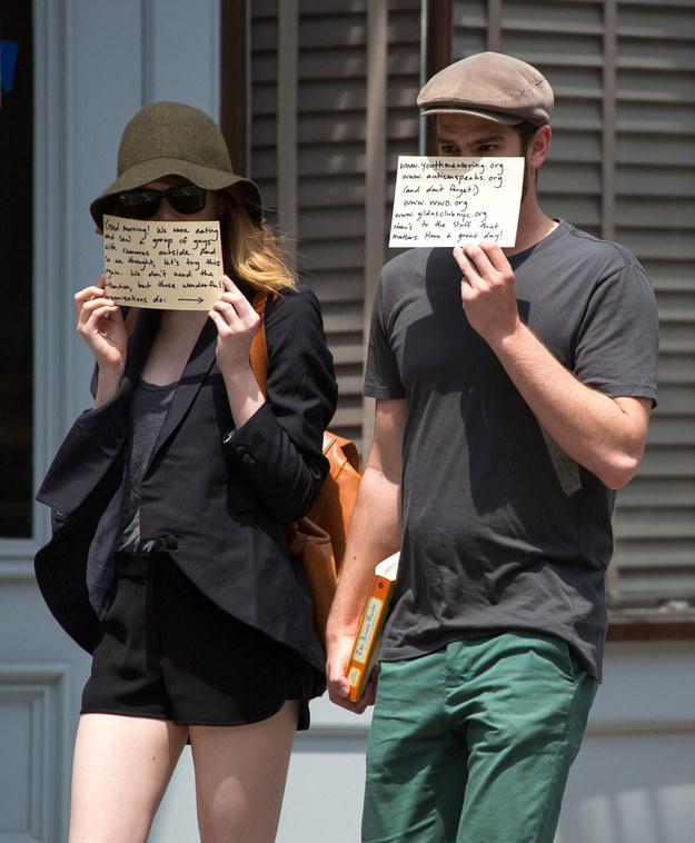 Emma Stone And Andrew Garfield (4)