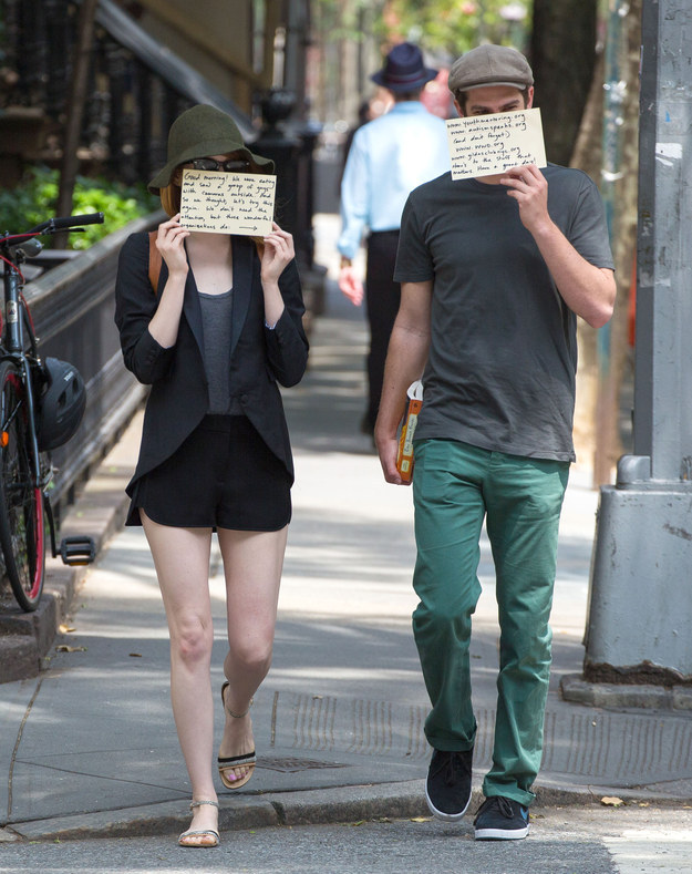 Emma Stone And Andrew Garfield (5)