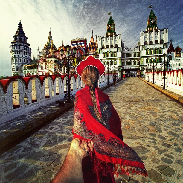 Travel to Moscow Kremlin