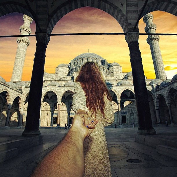 Travel to Suleymaniye Mosque, Istanbul