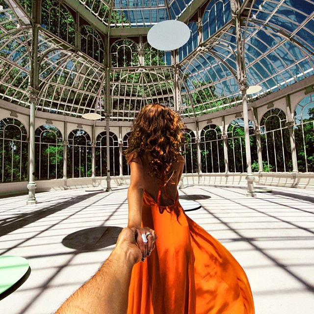 Travel to the Crystal Palace in Madrid