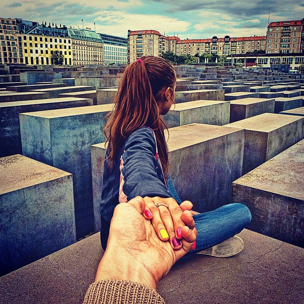 Travel to the Holocaust Memorial in Berlin