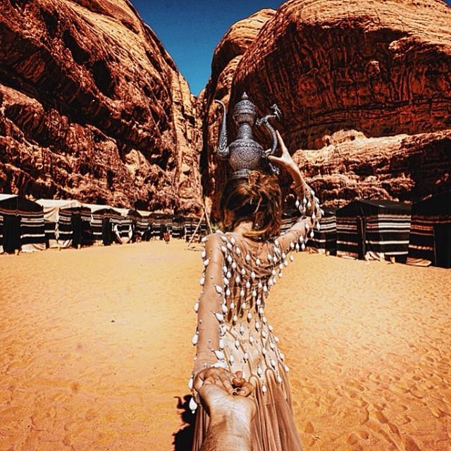 Travel to Wadi Rum Desert in Jordan