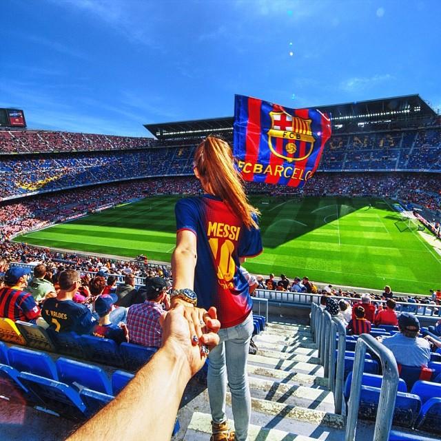 Travel to Camp Nou Stadium Barcelona
