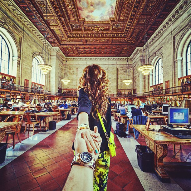 Travel to NYC Public Library