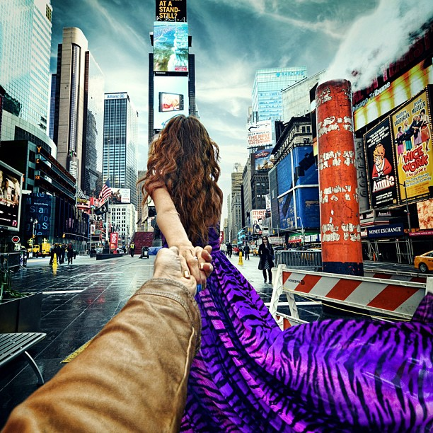 Travel to the Times Square
