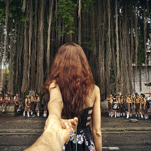 Travel to the school tree