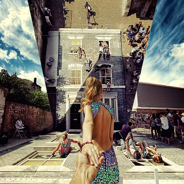 Travel to this amazing art installation by Leandro Erlich