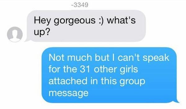 Group Text Fail