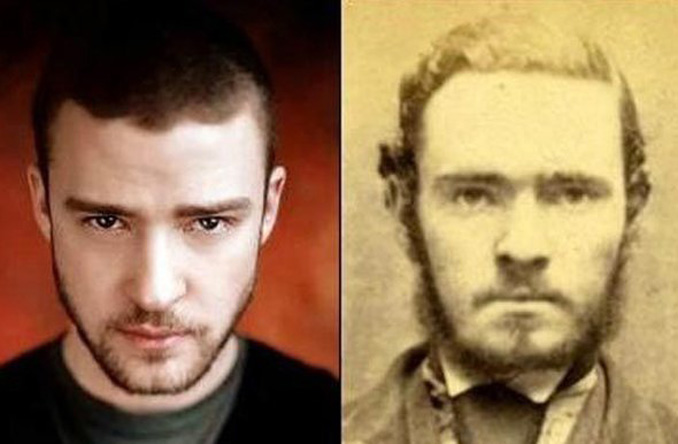 Justin Timberlake Looks Like Unknown Criminal From 1800s