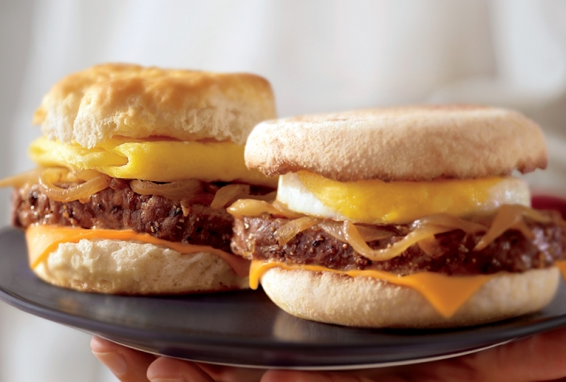 McDonald's Sausage Biscuit With Egg
