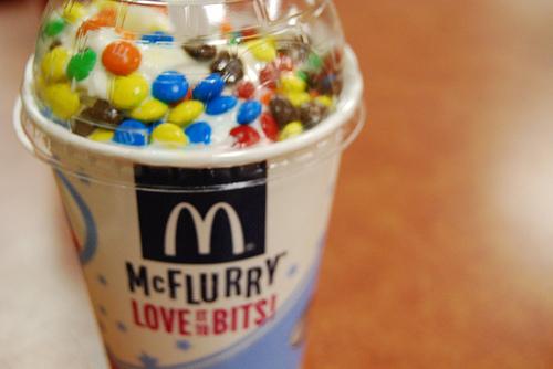 McFlurry With M&M's