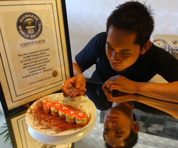 Most Expensive Sushi In The World