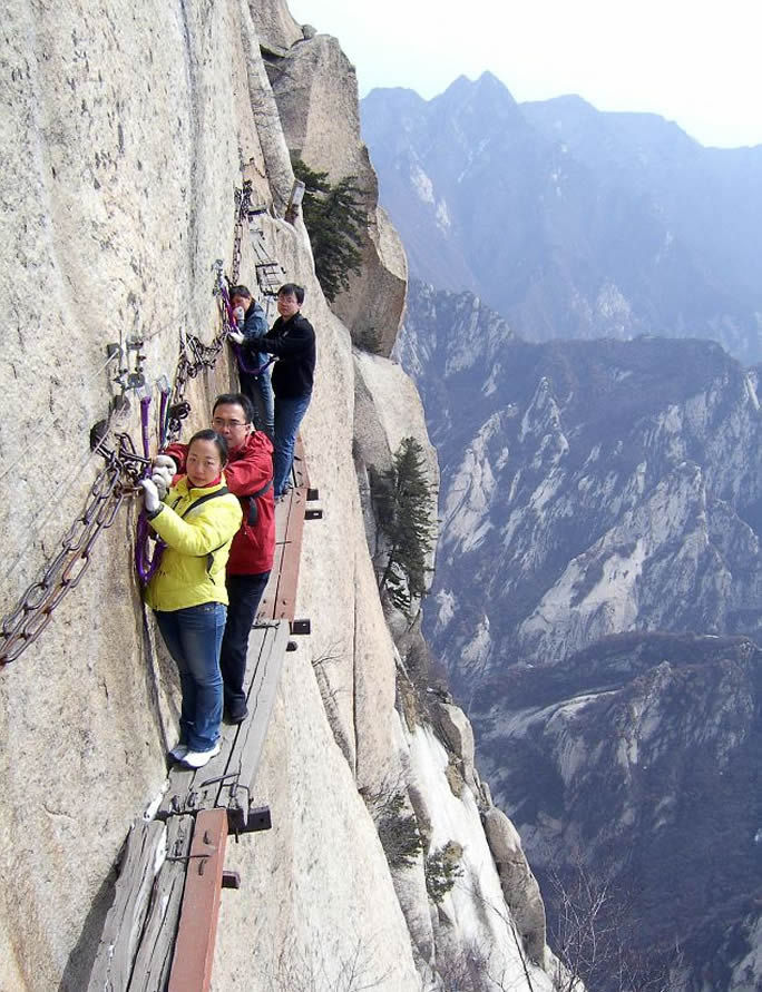 Mount Hua Death Trail In China