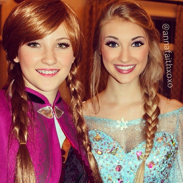 Real-Life Anna and Elsa from Frozen (1)