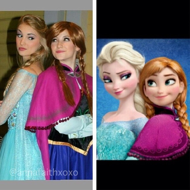 Real-Life Anna and Elsa from Frozen (2)