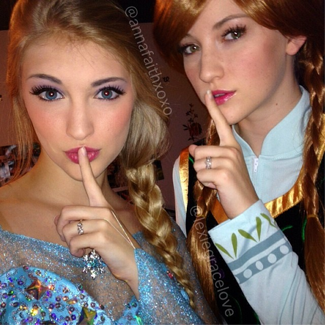 Real-Life Anna and Elsa from Frozen (3)