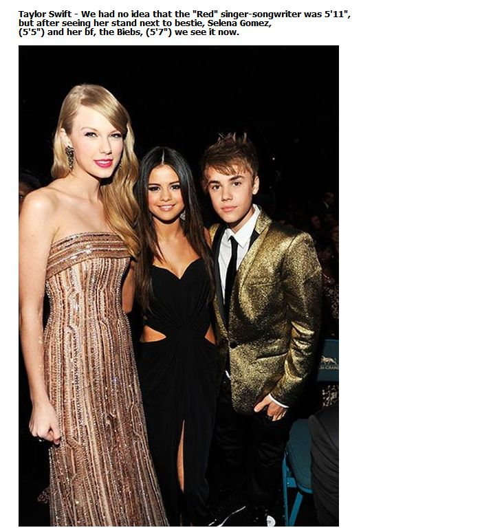 Shocking Celebrity Height (2)