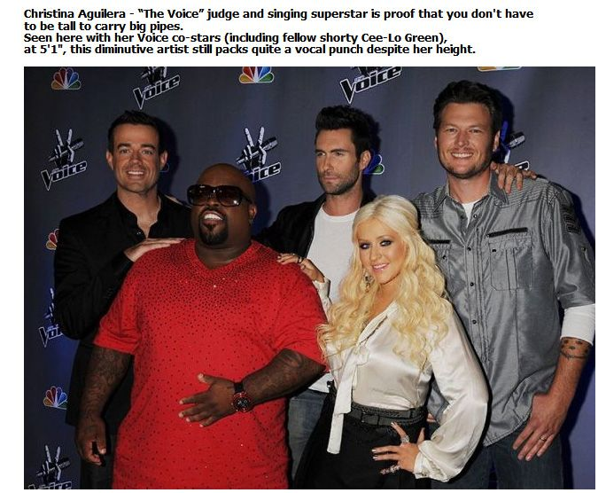 Shocking Celebrity Height (3)