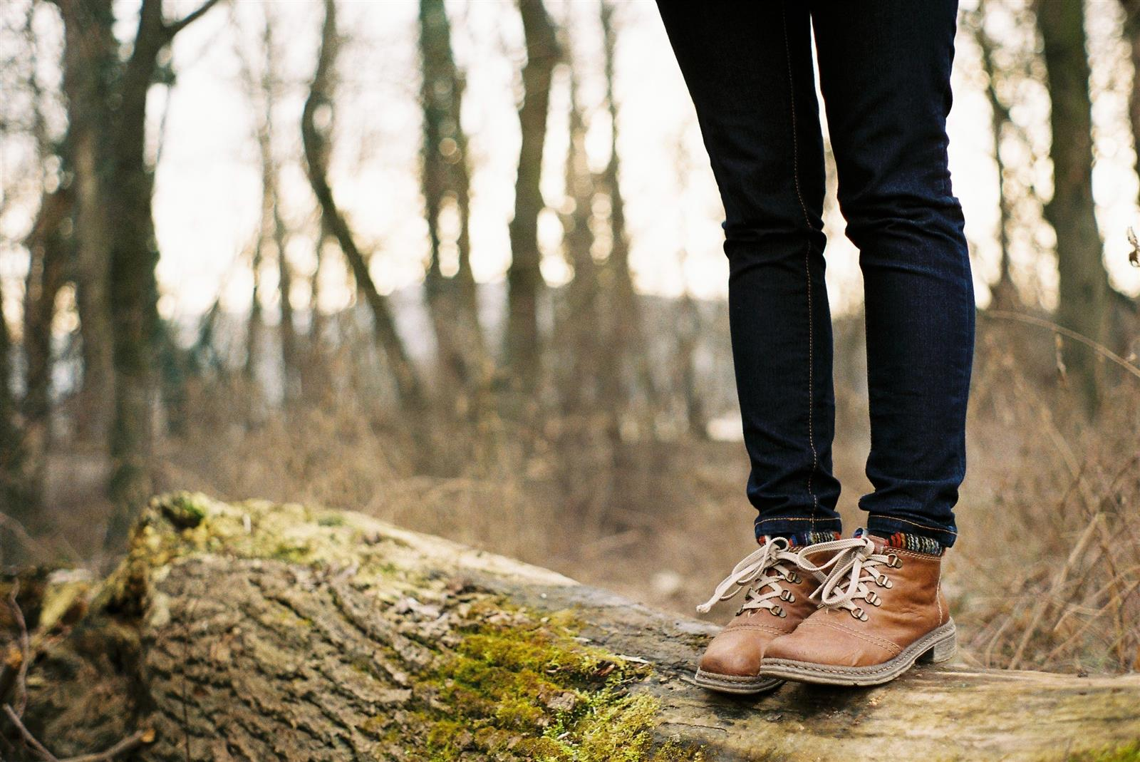 Standing On A Log