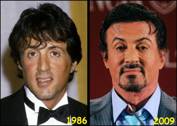 Sylvester Stallone Then & Now